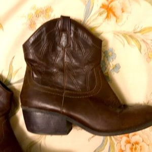 Cowgirl boot booties